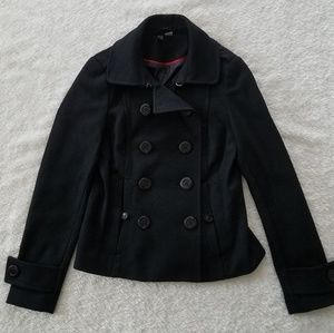 Wool Blend Coat - Divided by H&M size 8 - LIKE NEW